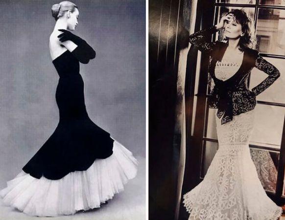f105cf167d1 Такой фасон используют для пошива роскошных вечерних и свадебных платьев.  Ткани выбирают праздничные  шёлк